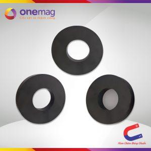 Nam châm đen Ferrite hình nhan 100x45x18mm