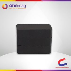 Nam châm đen Ferrite hình khối 20x10x5mm