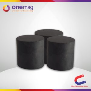 Nam châm đen ferrite hình trụ 24x25mm